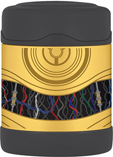 Thermos FUNtainerTM Stainless Steel, Vacuum Insulated Food Jar - Star Wars - 10 oz. Insulated Food Jar