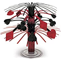 Matériel de décoration de fête thème Las Vegas Accessoires de fête déco nuit casino Kit de fête Déco soirée des jeux équipement de fête Décoration événement jeu de cartes Décorations nuit de poker