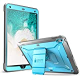 SUPCASE iPad Pro 10.5 inch case, [Heavy Duty] [Unicorn Beetle PRO Series] Full-body Rugged Protective Case with Built-in Screen Protector Design for Apple iPad Pro 10.5 inch 2017 (Blue/Black)