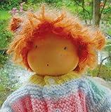 Puppentrikot fein, hautfarbig für Kuschelpuppen, 25x 80 cm