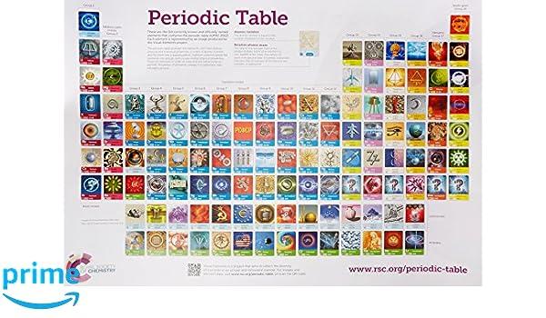 Rsc periodic table wallchart 2a0 double poster pack amazon rsc periodic table wallchart 2a0 double poster pack amazon murray robertson 9781782622147 books urtaz Choice Image