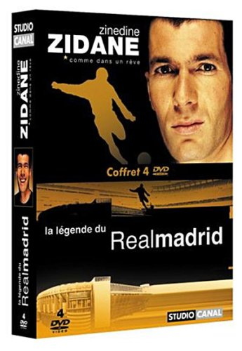 Bild von Coffret Zinedine Zidane 2 DVD : Zidane comme dans un rêve / La légende du Real Madrid [FR Import]