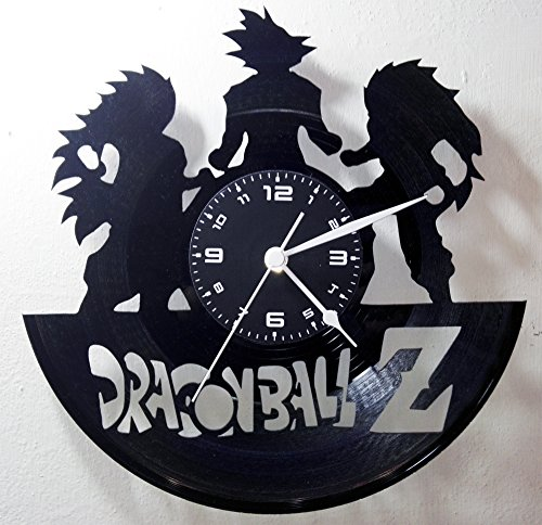 Reloj de vinilo de pared - Dragón Ball Z