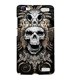 For Vivo V1 Max Cartoon, Black, Cartoon and Animation, Printed Designer Back Case Cover By CHAPLOOS