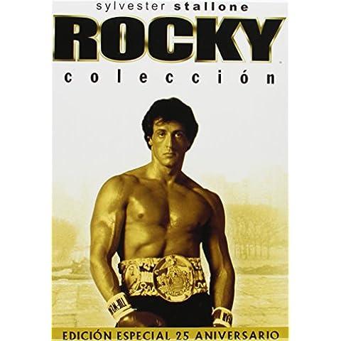 Rocky Edición 25 Aniversario- Bxs 5 Titulos