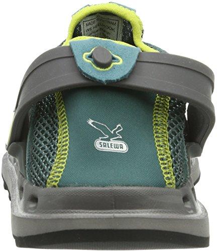 Salewa Ws Heelhook, Chaussures Multisport Outdoor Adulte Mixte Vert (grün)