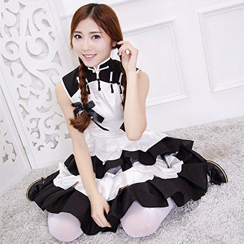 Panda Weibliche Kostüm - Gorgeous Luo Luo Tagen von der Familie Tag nach COS weibliche Panda installiert archaischen chinesischen cheongsam Kleid Kleidung cosplay Lattich