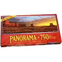 Panorama 750 Piece Puzzle - Monument Valley, Arizona - Over 3 Feet Wide