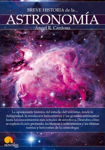 Breve historia de la astronomía por Ángel Cardona