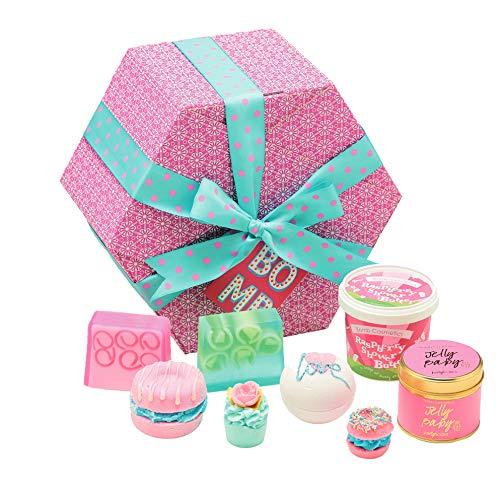 Bomb Cosmetics The Bomb, Geschenkset, 1er Pack (1 x 8 Stück) - Handgemachte Kakao-butter