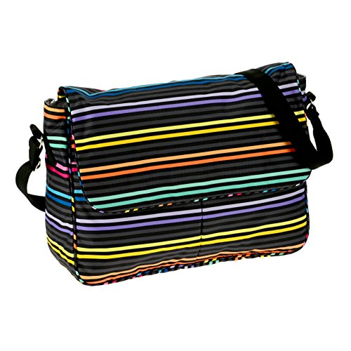 lesportsac-true-messenger-shoulder-baglestripe-blackone-size
