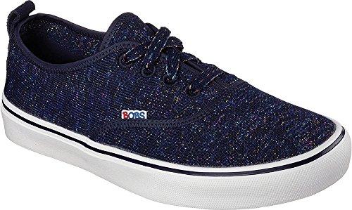 Bobs Da Skechers Menace Lite Fashion Party Sneaker Navy/multicolore