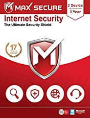 Max Secure Software Internet Security Version 6 - 2 PCs, 3 Years (Email Delivery in 2 Hours - No CD)