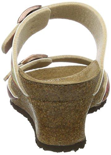 Papillio Dorothy Birko-flor, Ciabatte Donna Mehrfarbig (framboise Africaine Wax)