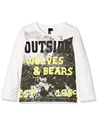 CMP Joven Manga Larga 3d44274 Camiseta, Otoño-Invierno, niño, Color B.Co Gesso, tamaño 98
