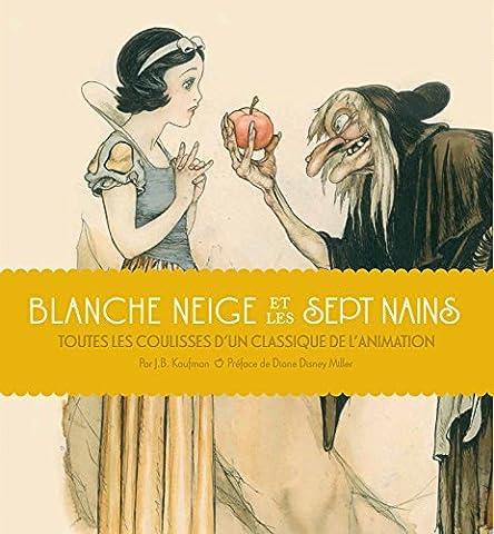 Livre Anime Blanche Neige - Blanche Neige et les Sept Nains :