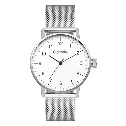 Gigandet Minimalism Women's Analogue Wrist Watch Quartz Silver G27-005