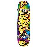 HANSSON.SPORTS Top Skateboard Komplett Ahornholz NEUE 4 Motive zur Wahl, Motiv: Graffiti