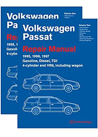 Volkswagen Passat (B4) Repair Manual: 1995, 1996, 1997: Including Gasoline, Turbo Diesel, Tdi 4-Cylinder, Vr6, and Wagon