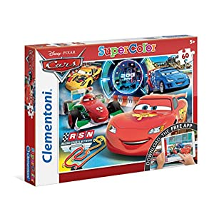 "Clementoni ""Cars App Puzzle (60-Piece, Multi-Colour)"