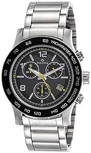 Maxima Attivo Chronograph Black Dial Men -32931CMGI