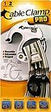 Fascette per cablaggio CABLE CLAMP PRO Strumento per l'organizzazione dei cavi riutilizzabile di QA Worldwide (1 PICCOLO, 2 MEDIO)