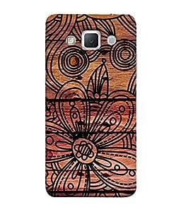 PrintVisa Designer Back Case Cover for Samsung Galaxy Grand 3 :: Samsung Galaxy Grand Max G720F (Fabric Texture Designer Cloth Weaving Wallpaper)