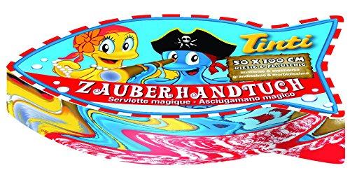 Tinti Zauberhandtuch – 1 Tuch, 1er Pack (1 x 6 Stück) - 2