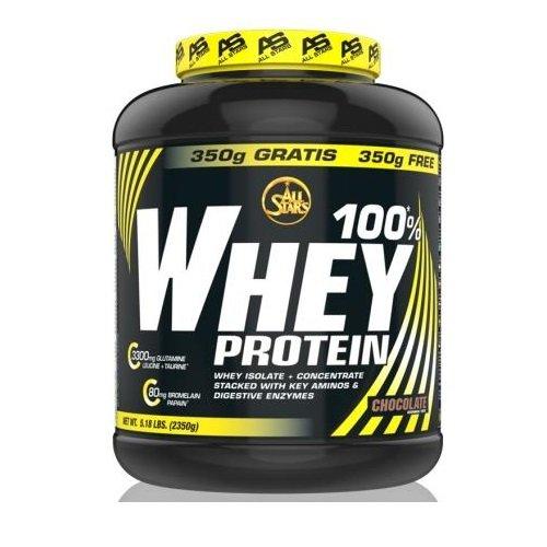 2g Protein (All Stars 100%* Whey Protein 2 x 2350g Dose 2er Pack Vanilla)