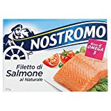 Nostromo Filetto di Salmone al Naturale - 110 gr