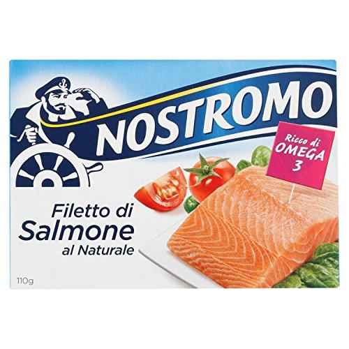 Nostromo Filetto di Salmone al Naturale - 110 gr