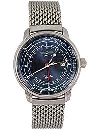 Zeppelin Hombre Planeador Reloj 100 años con Milanaise pulsera ...