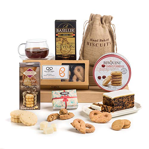 Traditional Afternoon Tea Time Delights Hamper Box