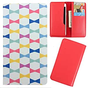 DooDa - For Karbonn A11+ PU Leather Designer Fashionable Fancy Case Cover Pouch With Card & Cash Slots & Smooth Inner Velvet