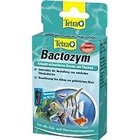 Tetra bactozym (para instantánea bioaktivität en filtro y Acuario, simplifica apoye el einfahren Platillos, reducción de Abono orgánico especial), 10Cápsulas
