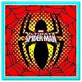 Procos, 27342, pack 20 servilletas de papel spiderman,