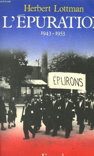 L'épuration 1943-1953