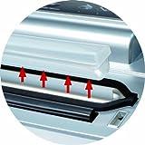 CASO VC200 Vakuumierer - Vakuumiergerät, Lebensmittel bleiben bis zu 8x länger frisch - natürliche Aufbewahrung ohne Konservierungsstoffe, doppelte 30cm lange Schweißnaht, inkl. Folienbox und Cutter, inkl. 2 Profi-Folienrollen & Schlauch für Vakuumbehälter - 7