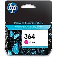 HP 364 - Cartucho de tinta Original HP 364 Magenta para HP DeskJet, HP OfficeJet y HP PhotoSmart