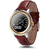 [actualización versión] Fitness Tracker Reloj de Muñeca, megadream® Bluetooth 4.0 SmartWatch de frecuencia cardíaca Podómetro Paso Sleep Monitor Control de Voz Mensaje de sincronización Recordatorio sedentaria anti pérdida con pantalla táctil IPS Full HD, 3 colores disponibles