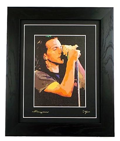 Pearl Jam Canvas Limited Edition Framed Art