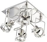 Britesta Deckenleuchte: Spot-LampeAmphithea, 4 Spots, GU10, bis 50 W (Schwenkbare Deckenleuchte)