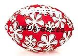 Aqua-Speed Splash Ball | Ballon d'eau | Football américain | Boule de Plage | Ballon de Piscine | Jeter Boule | Néoprène | Couleur | Pas d'amortissement, Couleur:Red - White 31