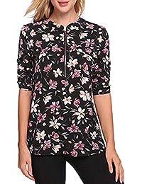 Camisas Blusa Pantalon es Morado Camisetas Y Blusas Amazon 461PcpqtA6