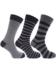 Chaussettes rayées (3 paires) - Homme