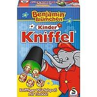 Schmidt-Spiele-40390-Benjamin-Blmchen-Kinder-Kniffel Schmidt Spiele 40390 Benjamin Blümchen 40390-Benjamin, Kinder Kniffel, bunt - Start -