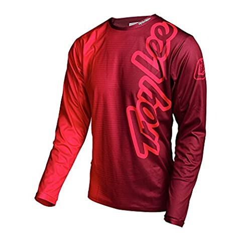 Troy Lee Designs - Troy Lee Designs Maillot Sprint 50/50 Red - Unicolor - M - Unicolor