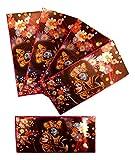 EL301 Set mit 5 bunten Radhe Krishna Shagun Bargeld-Umschlägen, Salami-Geschenk, Designer Einladungskarten Umschläge Geburtstag Eid Hochzeit Geschenk Karte Umschläge Holografisch