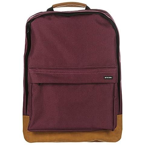 Animal Carve Backpack One Size Mauve Purple
