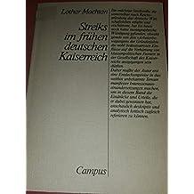 Streiks im frühen deutschen Kaiserreich